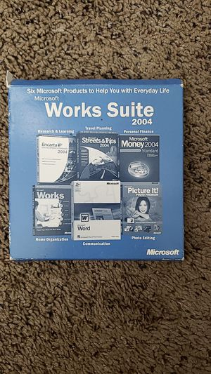 Works Suite 2004 for Sale in San Diego, CA