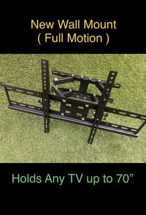 New Wall Mount for Large TV 's (Full Motion) for Sale in Chula Vista, CA