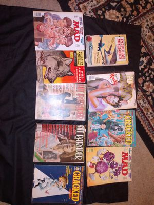 Vintage Music/Mad Magazines (1960s and 1970s) for Sale in Houston, TX