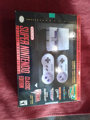 Nes Super Nintendo classic edition with 600 + games Sega Turbografx 16 Original Nes Lots more for Sale in Lanoka Harbor, NJ