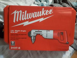 Milwaukee right angle drill kit for Sale in Jacksonville, FL