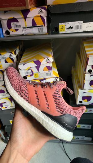 PINK ADIDAS ULTRABOOST SIZE 5.5 WOMEN'S for Sale in Easton, MA