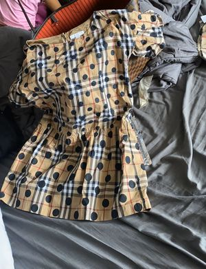 Burberry Polka-Dot Dress (size 12) for Sale in St. Louis, MO