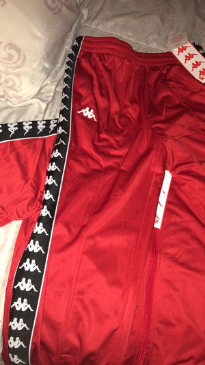 Red Kappa TrackSuit (Full Set) for Sale in Rialto, CA
