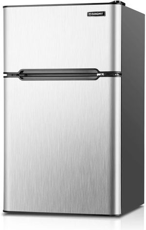 Mini Fridge with Freezer, 3.2 Cu.Ft Compact Refrigerator with freezer for Sale in Los Angeles, CA