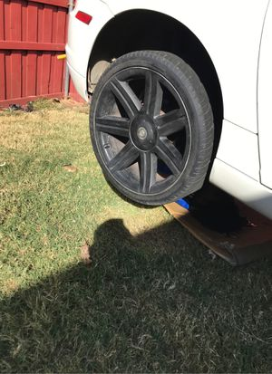Chrysler Crossfire rims black out for Sale in Carrollton, TX
