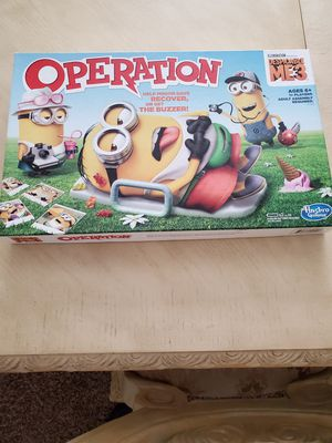 Operation board game Despicable Me Minions special edition for Sale in Chandler, AZ
