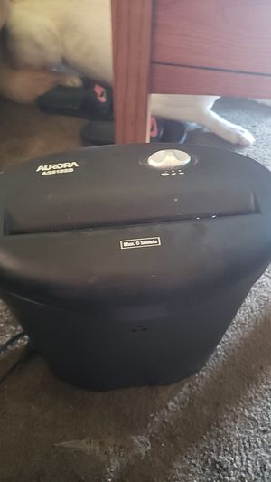 AURORA AS618SB paper shredder for Sale in Sanford, NC
