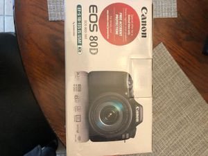 Canon EOS 80D for Sale in Lancaster, CA