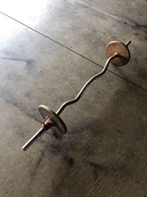 Curl bar for Sale in Ontario, CA