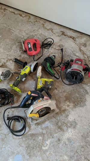 7 power tools for $165 for Sale in Tampa, FL