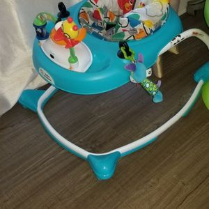 Free Baby Walker And A Bag Of Baby Clothes for Sale in Boca Raton, FL