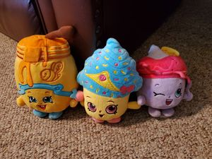 Shopkins Plush Lot for Sale in West Harrison, IN