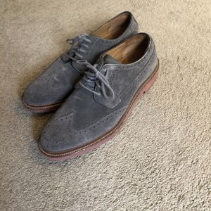 Men's Cole Haan Gray Suede Dress Shoes for Sale in Encinitas, CA