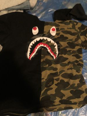 Bape Shirt Medium for Sale in Detroit, MI