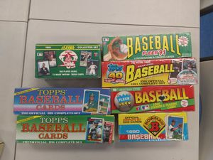 Factory sealed baseball card sets! MINT ROOKIES!! for Sale in Chantilly, VA