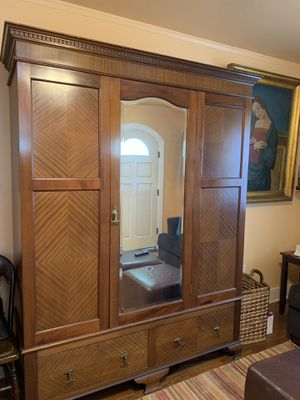 Antique Closet with Two Drawers for Sale in San Diego, CA