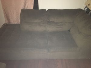 Sectional Brown Couch for Sale in Pittsburgh, PA