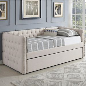 🔥New! Luxurious tufted daybed w/trundle for Sale in Escondido, CA