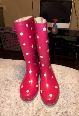 Women's rain boots 7 for Sale in Edmond, OK