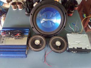 Audio System for Sale in Cedar Bluff, VA