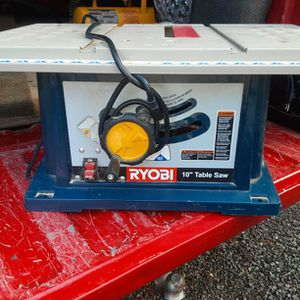 Ryobi 10in Table Saw for Sale in Port Orchard, WA