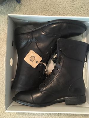 Born Black Leather Boots for Sale in West Springfield, VA