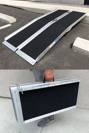 """NEW $115 Aluminum 5ft Wheelchair Ramp 60x28"""" for Sale in Downey, CA"""
