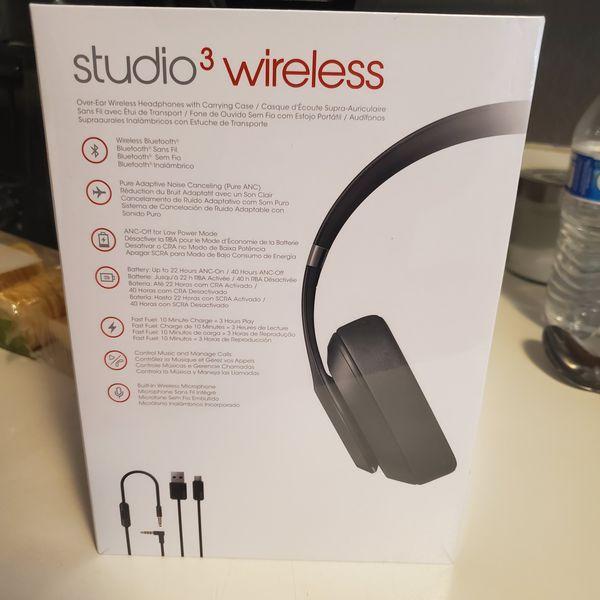 Beats Studio 3 Wireless Headphones- New in Box