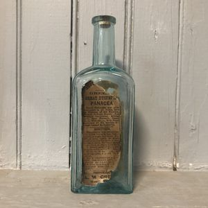 1800s Greens Great Dypsetic Pancacea Cure | Quack Nostrum Label Bottle for Sale in Leominster, MA