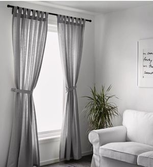 IKEA Lenda Curtain Panels (5 available) for Sale in Decatur, GA