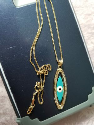 Gold 10K Necklace Chain and Pendant New for Sale in Austin, TX