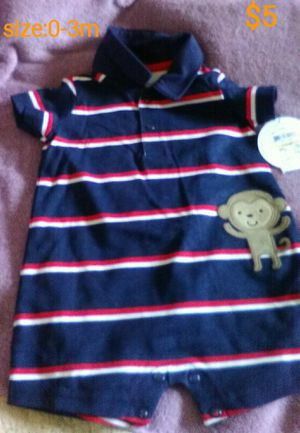 Brand new baby boy clothes with tag for Sale in Sanger, CA