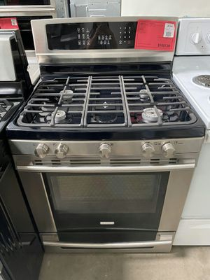 New! Electrolux Stainless Steel 5 Burner Gas Range Stove Oven! 1 Year Manufacturer Warranty Included for Sale in Gilbert, AZ