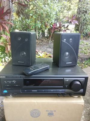 Technics Stereo Receiver with Remote and 2 Speakers for Sale in Orlando, FL