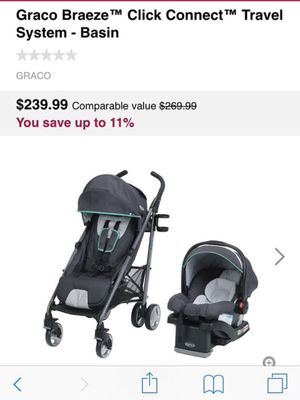 Graco stroller and car seat brand new in box for Sale in Westminster, CA
