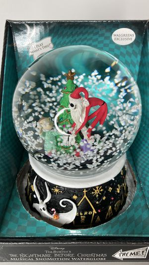 NEW Jack and Timmy Musical Swirling Snow Globe for Sale in Montebello, CA