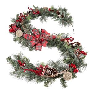 BRAND NEW holiday garland. Pine and berry mix for Sale in Los Angeles, CA