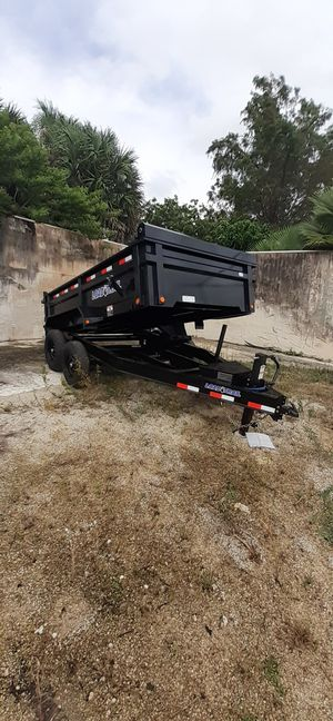 7x12 Dump Trailer for Sale in Fort Lauderdale, FL