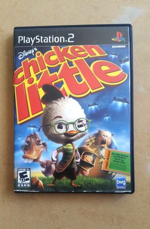 Disney's Chicken Little, PS2 for Sale in El Cajon, CA