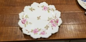 Antique China Hand Painted Floral Pattern Porcelain Large Serving plate for Sale in Washington, DC