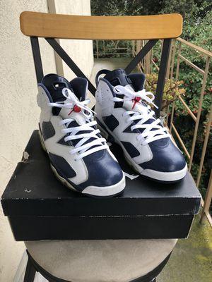 "Jordan 6 Retro ""Olympic"" 2012 sz. 11.5 for Sale in Hayward, CA"
