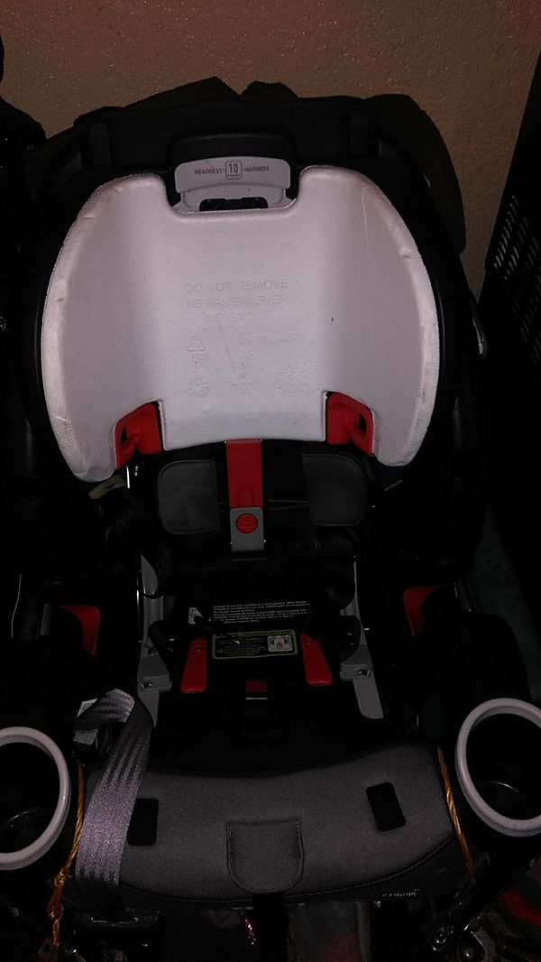 Graco 4ever DLX Platinum Convertible car seat