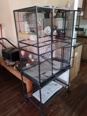 Birdcage- anodized aluminum, flight cage for Sale in Glendale, AZ