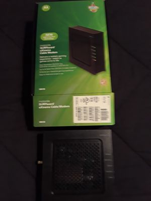 Motorola cable modem for Sale in Westerville, OH