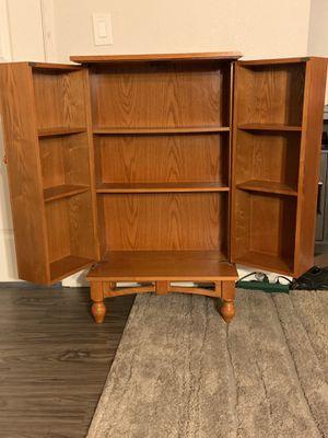 Oak cabinet for Sale in Manteca, CA