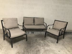 Patio furniture. $100 or best offer for Sale in Miami Beach, FL