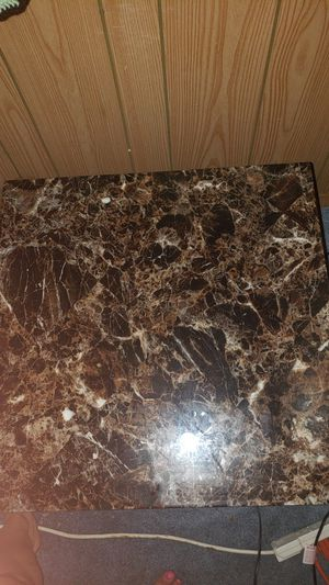 Set of 3 matching marble top coffee and end tables for Sale in River Rouge, MI