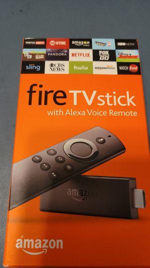 FIRESTICK - UNOPENED BOX- WITH ALEXA VOICE REMOTE for Sale in Miami, FL
