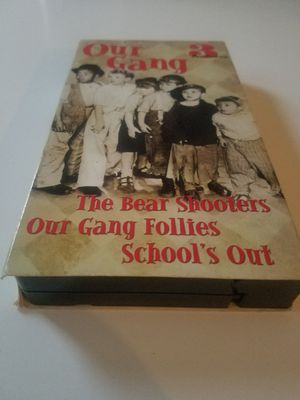 Our Gang VHS - 3 Features for Sale in South Windsor, CT